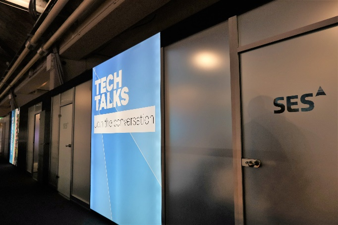 SES Tech Talks Room Entrance Layout