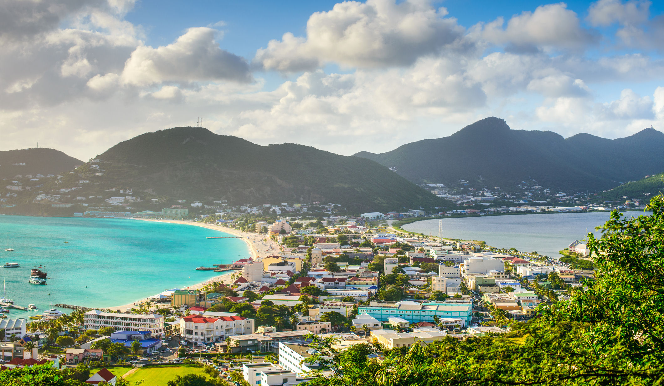 The island of St. Maarten