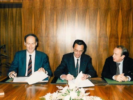 Agreement with Arianespace